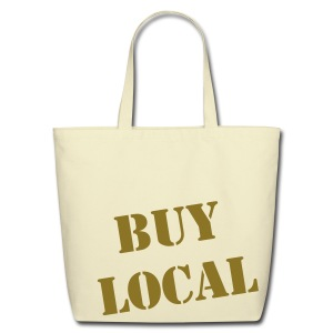 Eco-Friendly Cotton Buy Local Tote - Eco-Friendly Cotton Tote