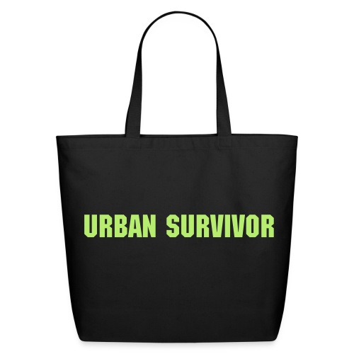 Eco Friendly URBAN SURVIVOR Tote Bag - Eco-Friendly Cotton Tote