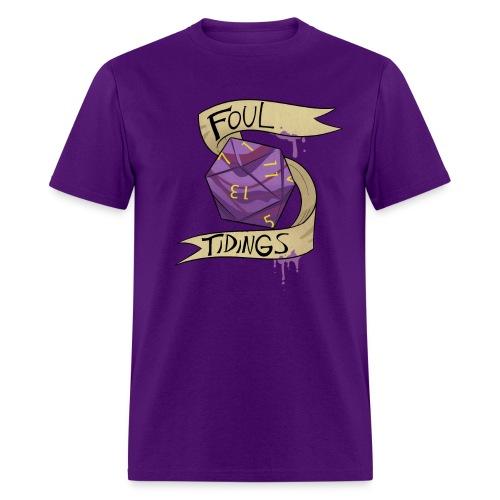 Foul Tidings - Men's T-Shirt