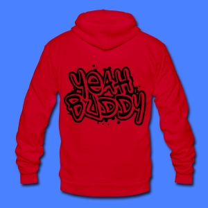 Yeah Buddy Zip Hoodies/Jackets - stayflyclothing.com - Unisex Fleece Zip Hoodie by American Apparel
