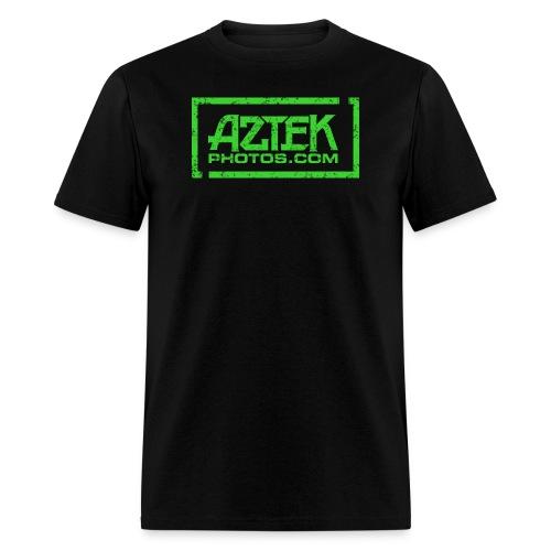 Aztekphotos-green - Men's T-Shirt