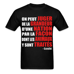 On peut juger de la grandeur d'une nation par la façon dont les animaux y sont traités (Grandhi) Animal liberation - Vegetarian - Vegan - Anti-specism - Animal cruelty - Animal testing - Animal liberation front - ALF - Vivisection - Animal experim