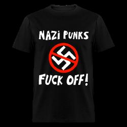 Nazi punks fuck off! Antifa - Anti-racist - Anti-nazi - Anti-fascist - RASH - Red And Anarchist Skinheads