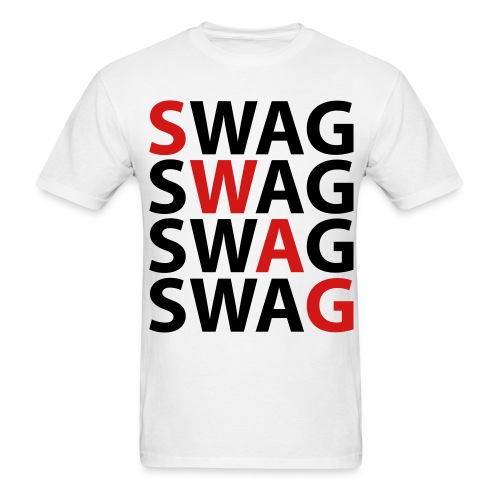 Swag me 5x - Men's T-Shirt