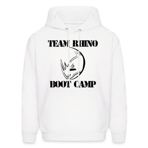 2017 Boot Camp Hoodie - WHITE ONLY - Men's Hoodie