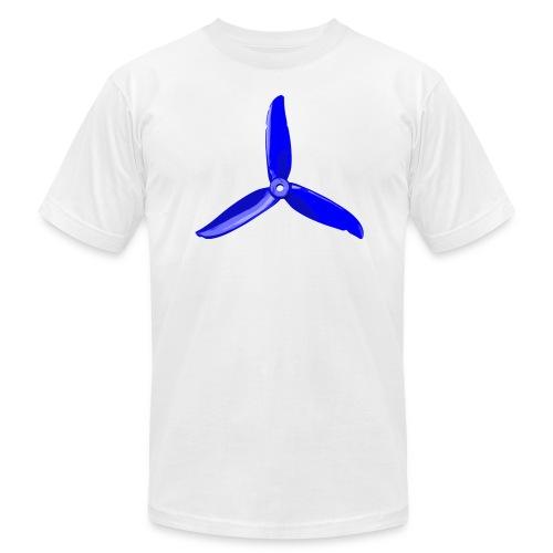 Blue Prop (light shirt) - Men's  Jersey T-Shirt