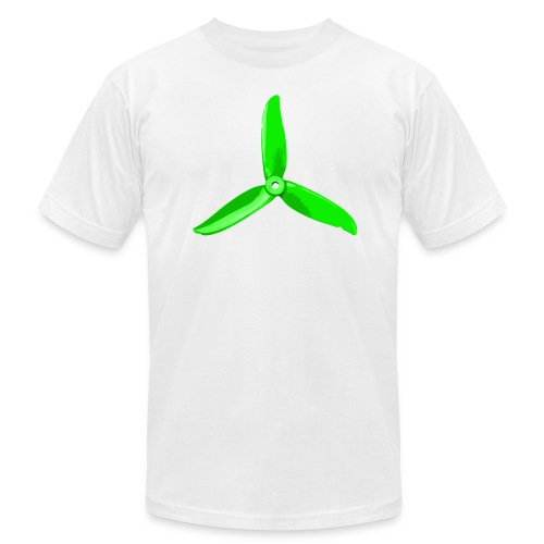 Green Prop (Light Shirts) - Men's Fine Jersey T-Shirt