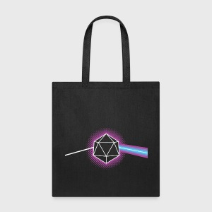 Dungeons & Dragons d20 Pink Floyd Dark Side of the Moon - Tote Bag