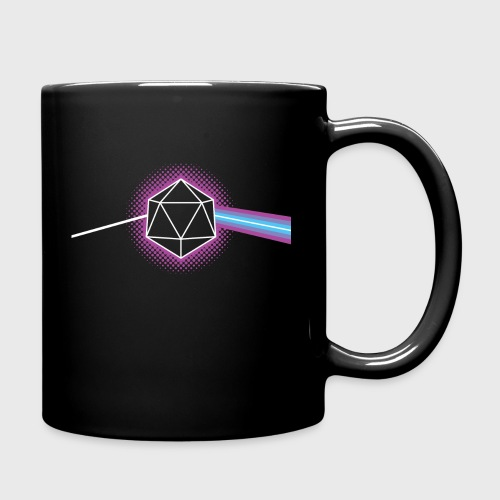 Dungeons & Dragons d20 Pink Floyd Dark Side of the Moon - Full Color Mug