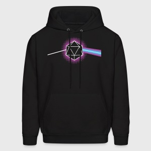 Dungeons & Dragons d20 Pink Floyd Dark Side of the Moon - Men's Hoodie