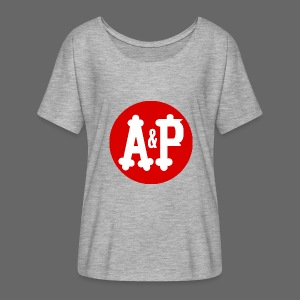 A & P  - Women's Flowy T-Shirt