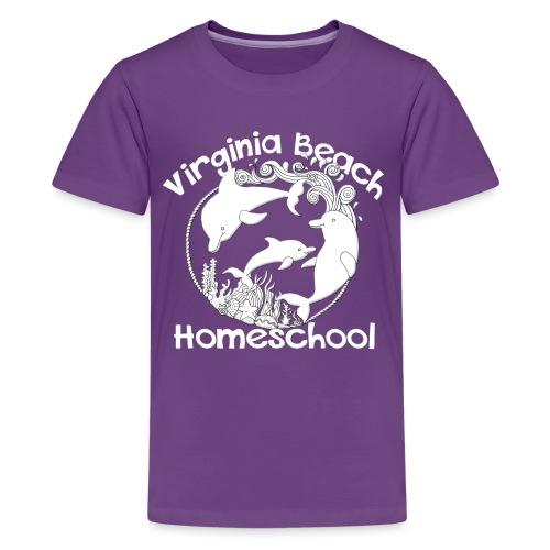 Virginia Beach Homeschool - Kids' Premium T-Shirt