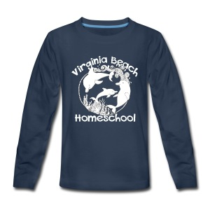 Virginia Beach Homeschool - Kids' Premium Long Sleeve T-Shirt