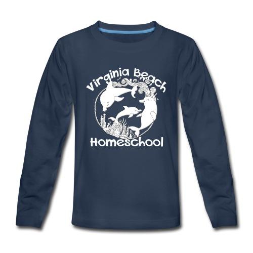 Virginia Beach Homeschool - Kids' Premium Long Sleeve T-Shirt