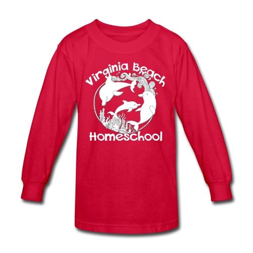 Virginia Beach Homeschool - Kids' Long Sleeve T-Shirt