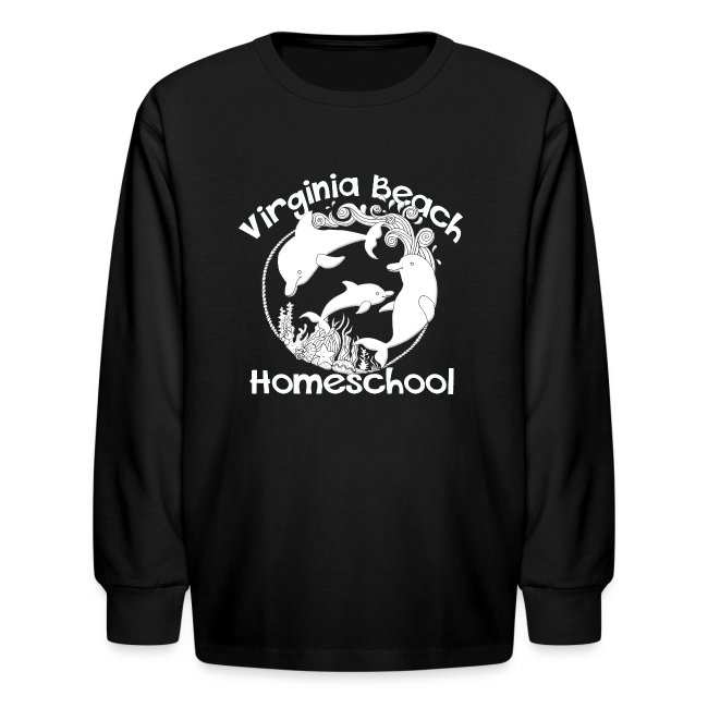 bffddfa5e MADE BY MOMMA | Virginia Beach Homeschool - Kids Long Sleeve T-Shirt