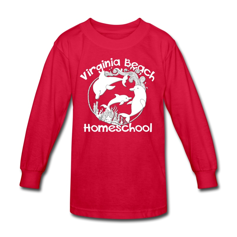 Virginia Beach Homeschool - Kids' Long Sleeve T-Shirt