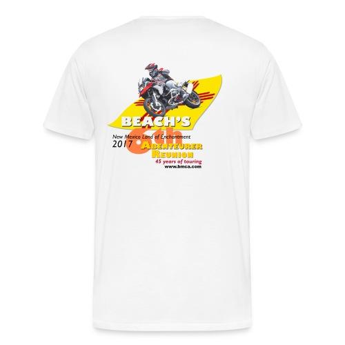 Reunion 2017 Mens Short Sleeve Yellow Lettering - Men's Premium T-Shirt