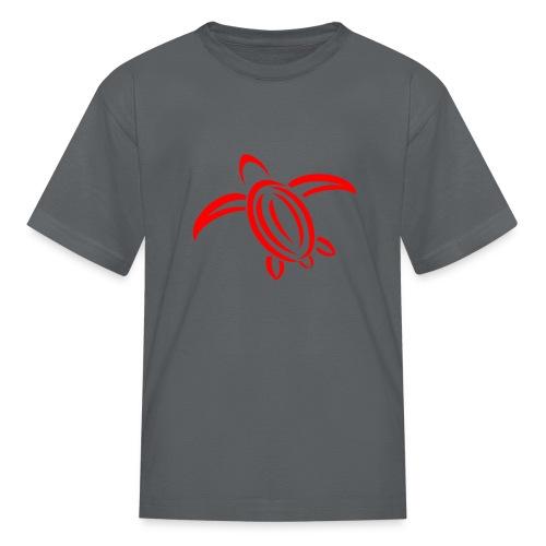 KPTV Red Turtle Shirt - Kids' T-Shirt