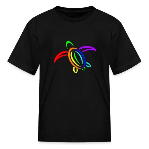 KPTV Rainbow Turtle Shirt - Kids' T-Shirt