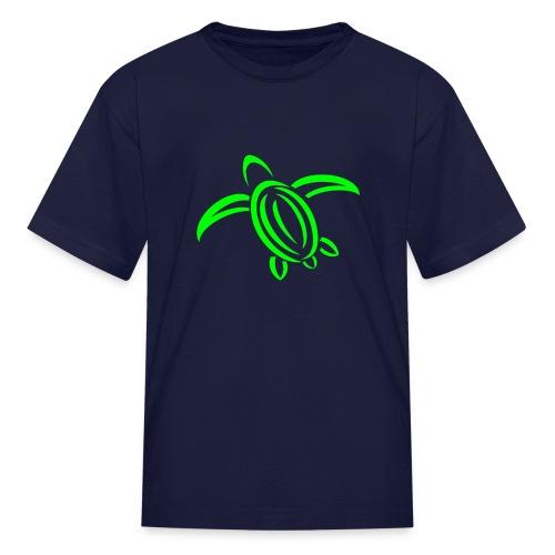 KPTV Green Turtle Shirt - Kids' T-Shirt