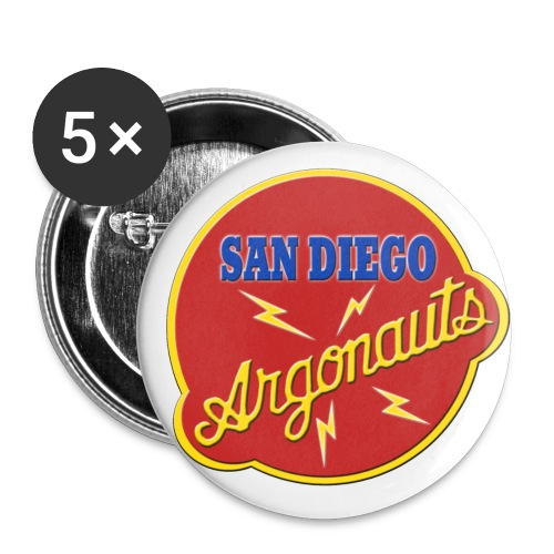 Argonauts Logo Pin - Large Buttons