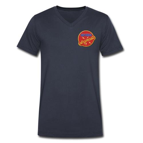 T-shirt Argonauts (Men's V) - Men's V-Neck T-Shirt by Canvas