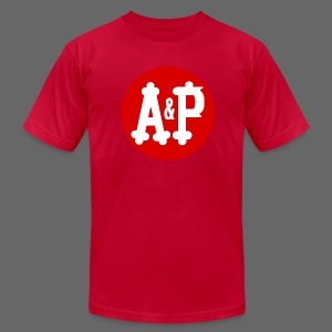 A & P  - Men's T-Shirt by American Apparel