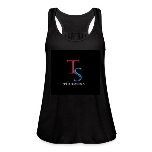 ThugSexy Flow - Women's Flowy Tank Top by Bella