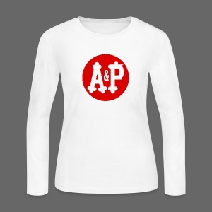 A & P  - Women's Long Sleeve Jersey T-Shirt