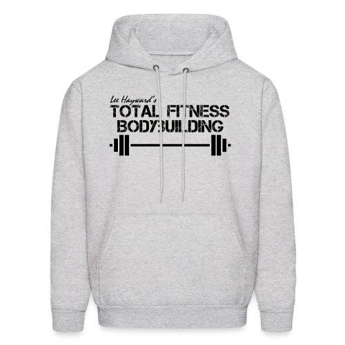Total Fitness Bodybuilding Barbell Hoodie - Men's Hoodie