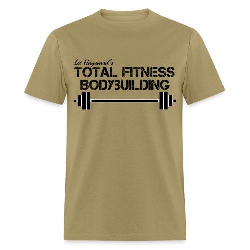 Total Fitness Bodybuilding Barbell T-Shirt - Men's T-Shirt