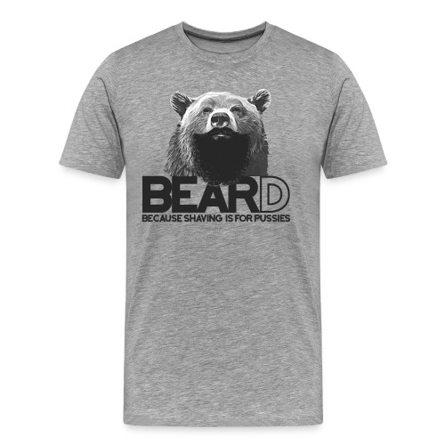 Bear and beard - Men's Premium T-Shirt