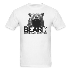 Bear and beard - Men's T-Shirt