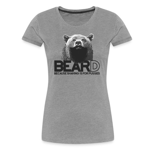 Bear and beard - Women's Premium T-Shirt