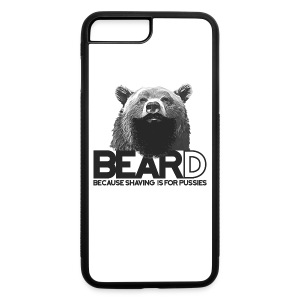 Bear and beard - iPhone 7 Plus/8 Plus Rubber Case