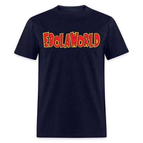 Ebolaworld logo - Men's T-Shirt