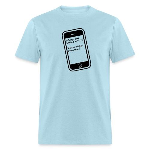 The 11:11 wish shirt.  - Men's T-Shirt