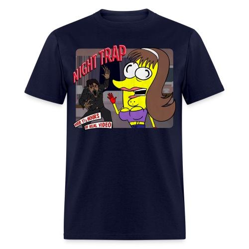 Taco-Man Night Trap (FADED IMAGE) - Men's T-Shirt