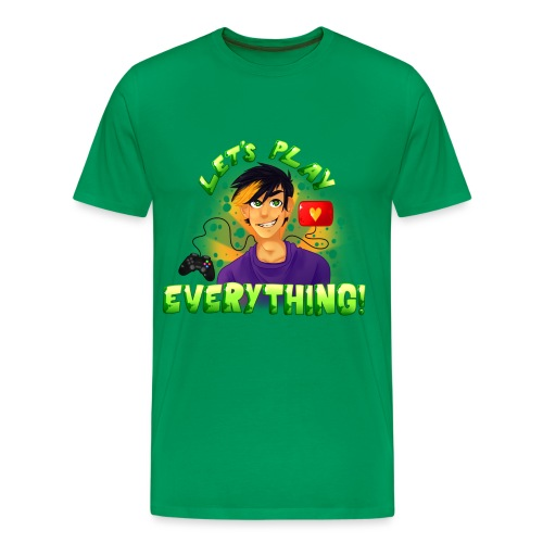 Let's Play Everything - Men's T-Shirt - Men's Premium T-Shirt