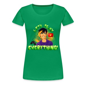 Let's Play Everything - Women's T-Shirt - Women's Premium T-Shirt