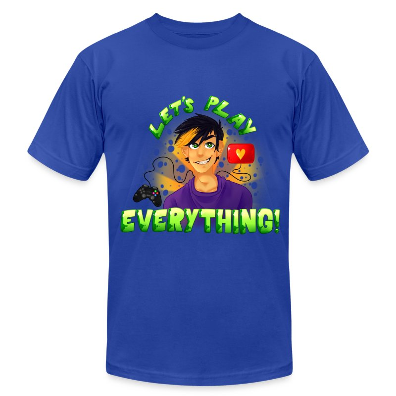 Let's Play Everything - Men's AA T-Shirt - Men's T-Shirt by American Apparel