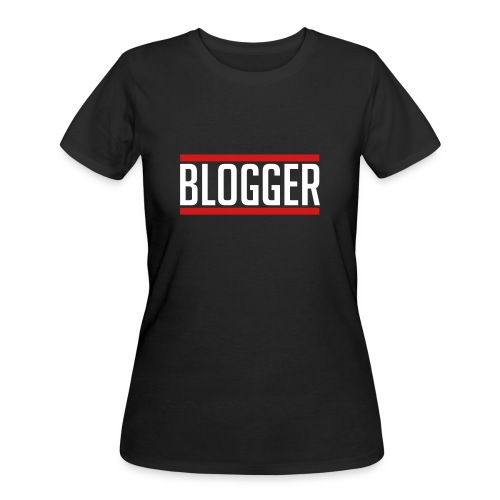 Blogger Red Lines women's tshirt - Women's 50/50 T-Shirt