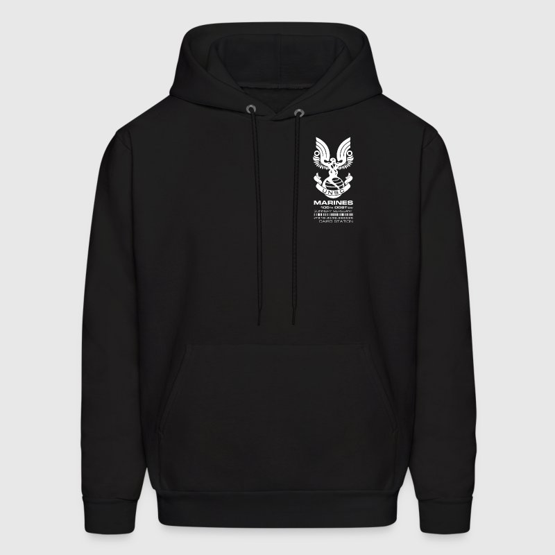 ODST GnySgt ID patch dark hoody - Men's Hoodie