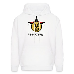 UNSC Spartan-II Program light mens hoody - Men's Hoodie