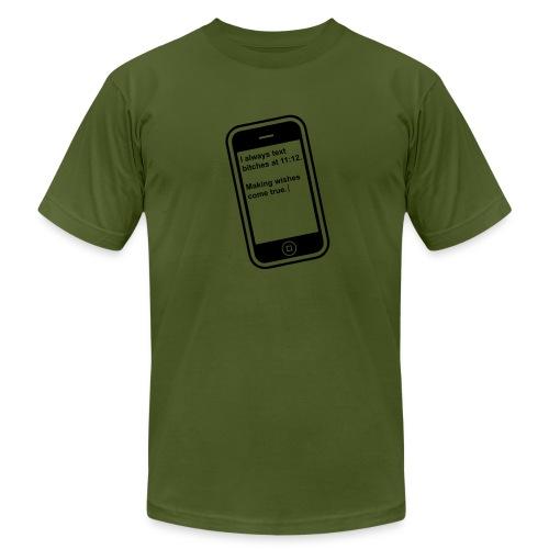 The 11:11 wish shirt.  - Men's Fine Jersey T-Shirt