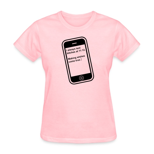 The 11:11 wish shirt.  - Women's T-Shirt