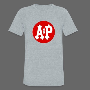 A & P  - Unisex Tri-Blend T-Shirt by American Apparel