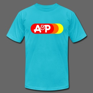 A & P Sunrise Logo - Men's T-Shirt by American Apparel