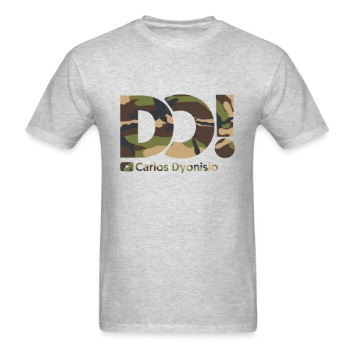 Camo on Grey DO! T-Shirt - Men's T-Shirt